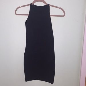 American Apparel high neck bodycon dress